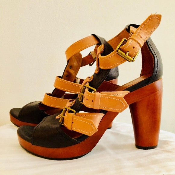 994b19e5c59 Chie Mihara Shoes - CHIE MIHARA Chunky leather heels